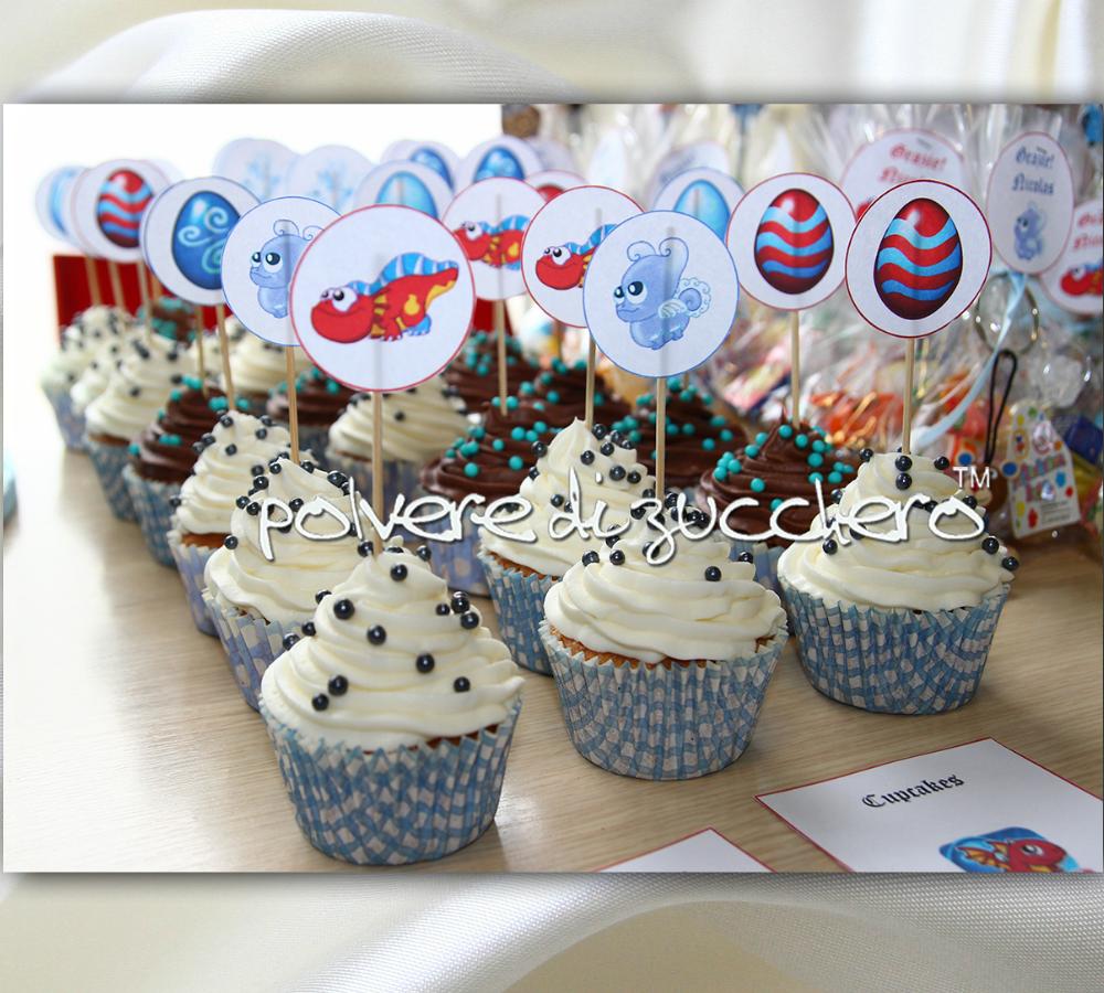 Cupcakes Compleanno Nicolas