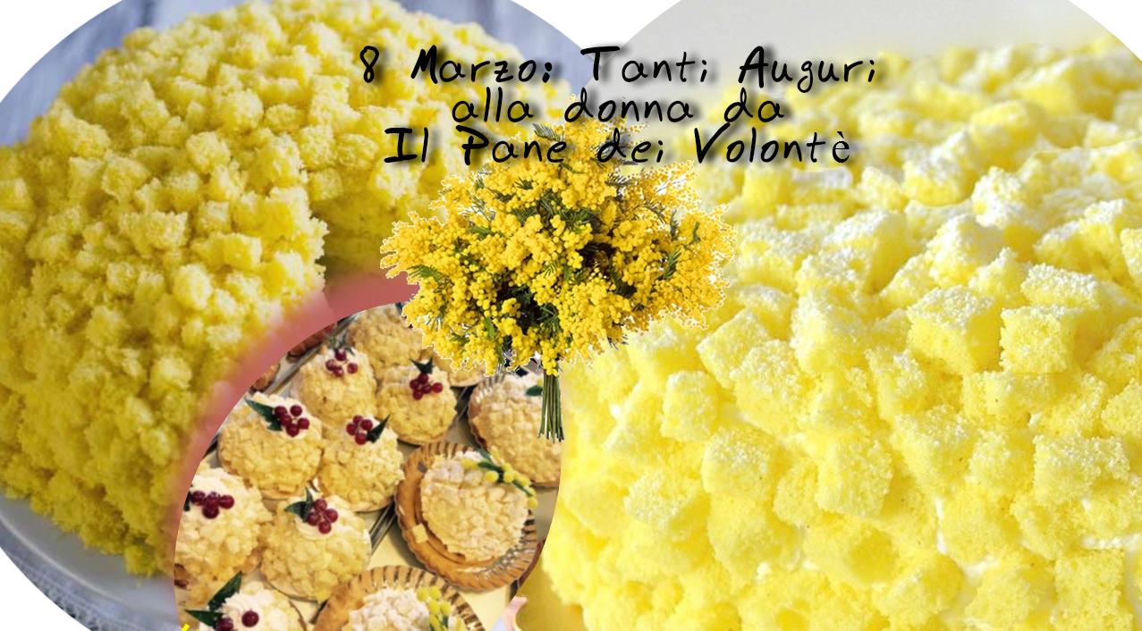 8 Marzo Festa della Donna con le Torte Mimosa Favolose