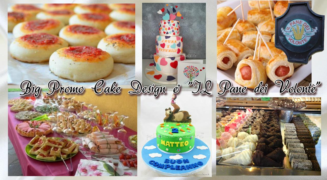 Ordina la Tua Torta Cake Design e ricevi un Buono Sconto per il Buffet